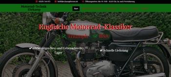 Screenshot englische-motorrad-klassiker.de in Haan